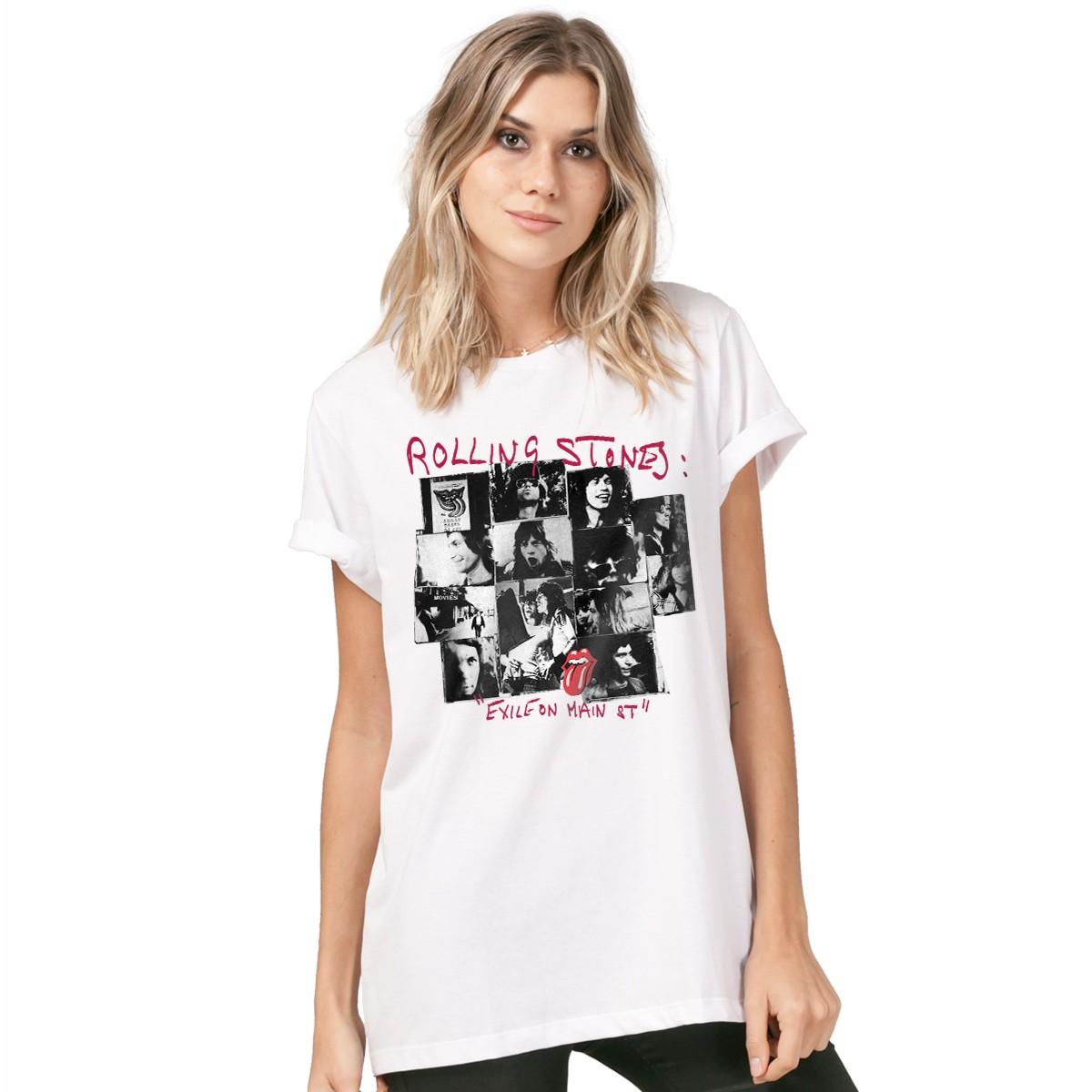 T-Shirt Feminina RS Exile on Main St