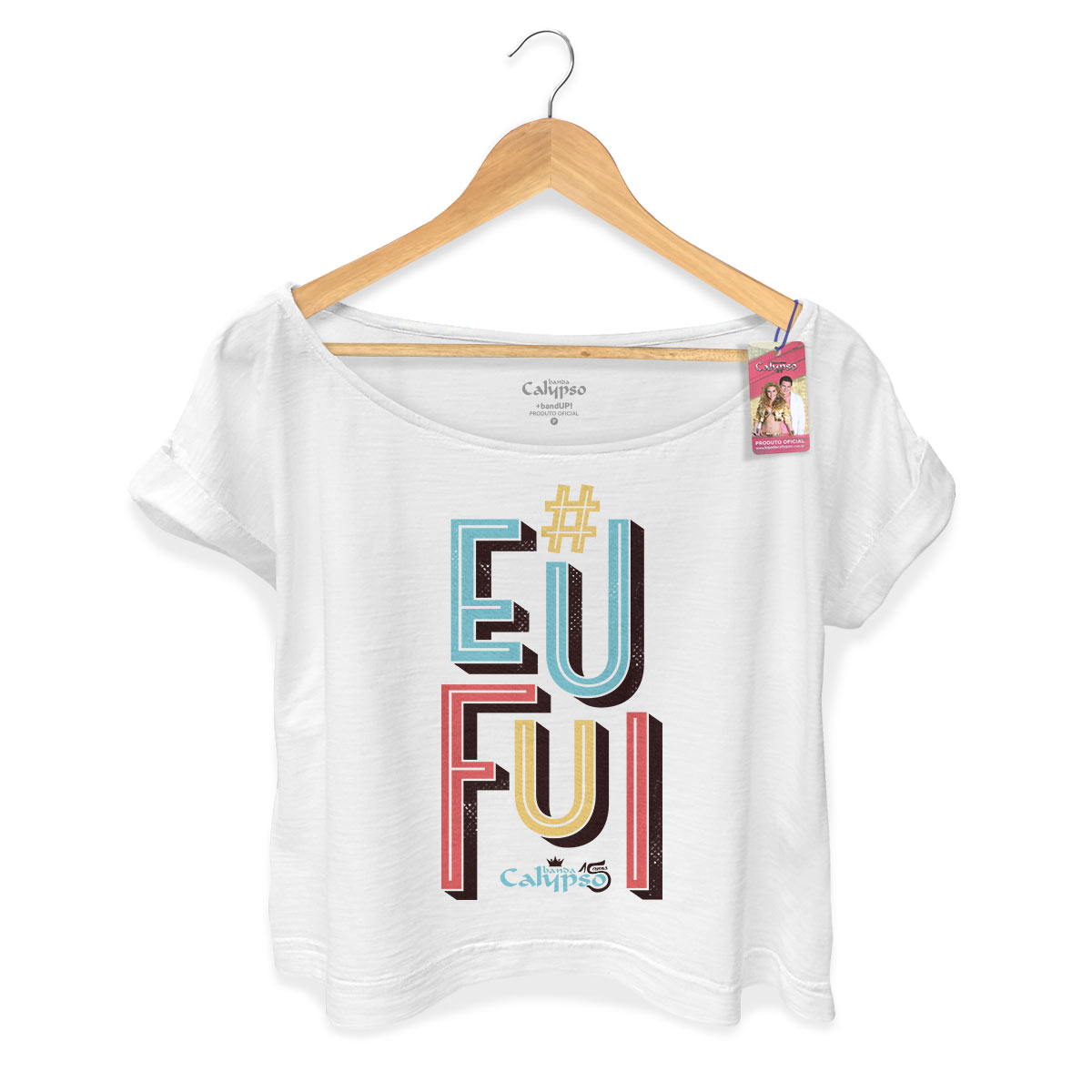 T-shirt Premium Feminina Calypso Eu Fui