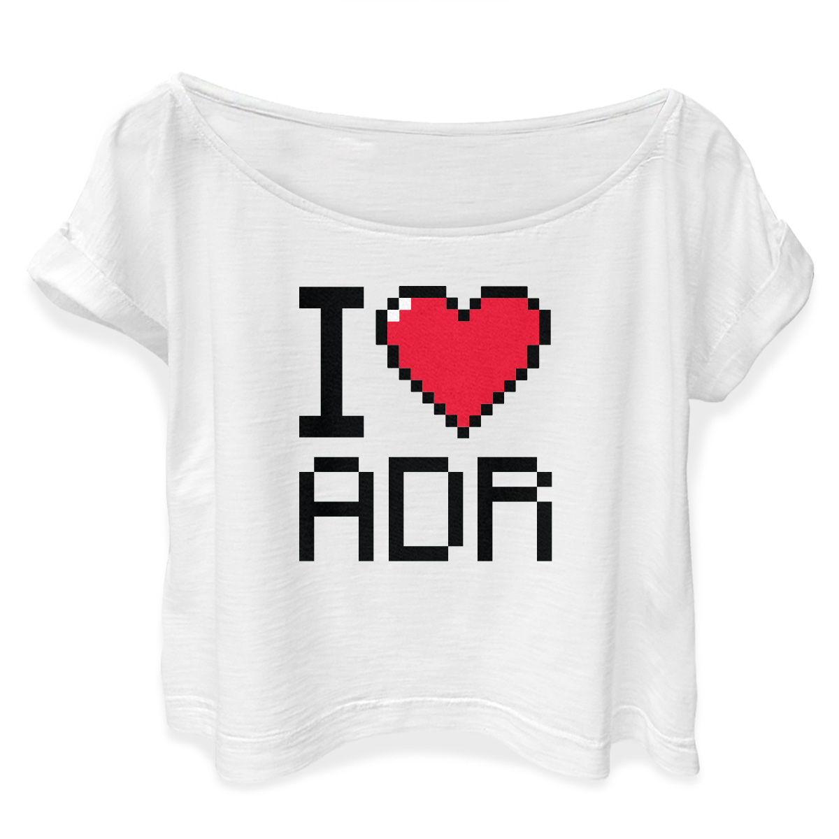 T-shirt Premium Feminina I Love ADR