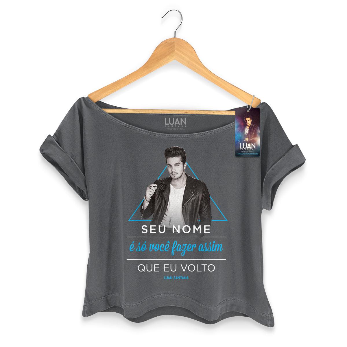 T-shirt Premium Feminina Luan Santana Estalo