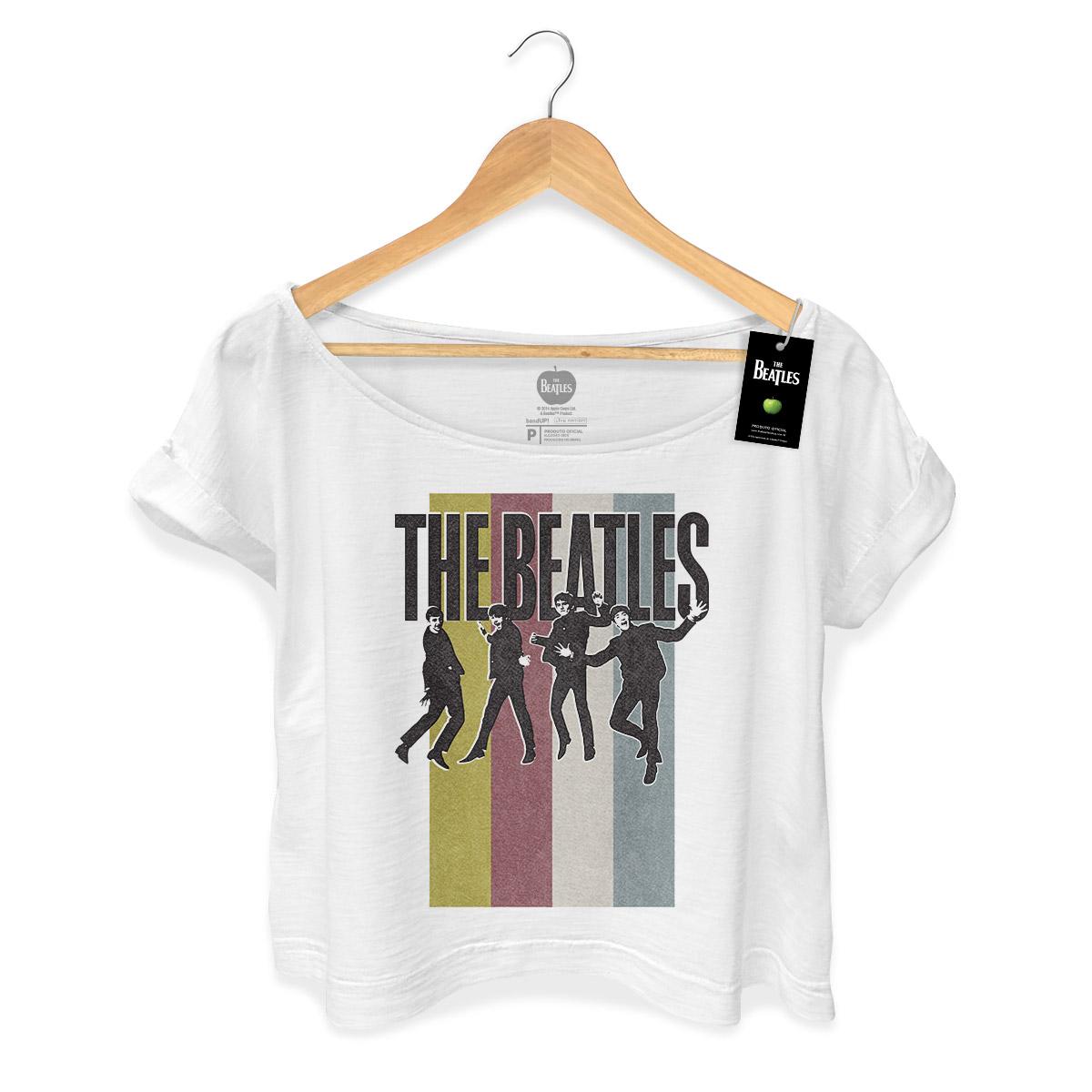 T-shirt Premium Feminina The Beatles Jump