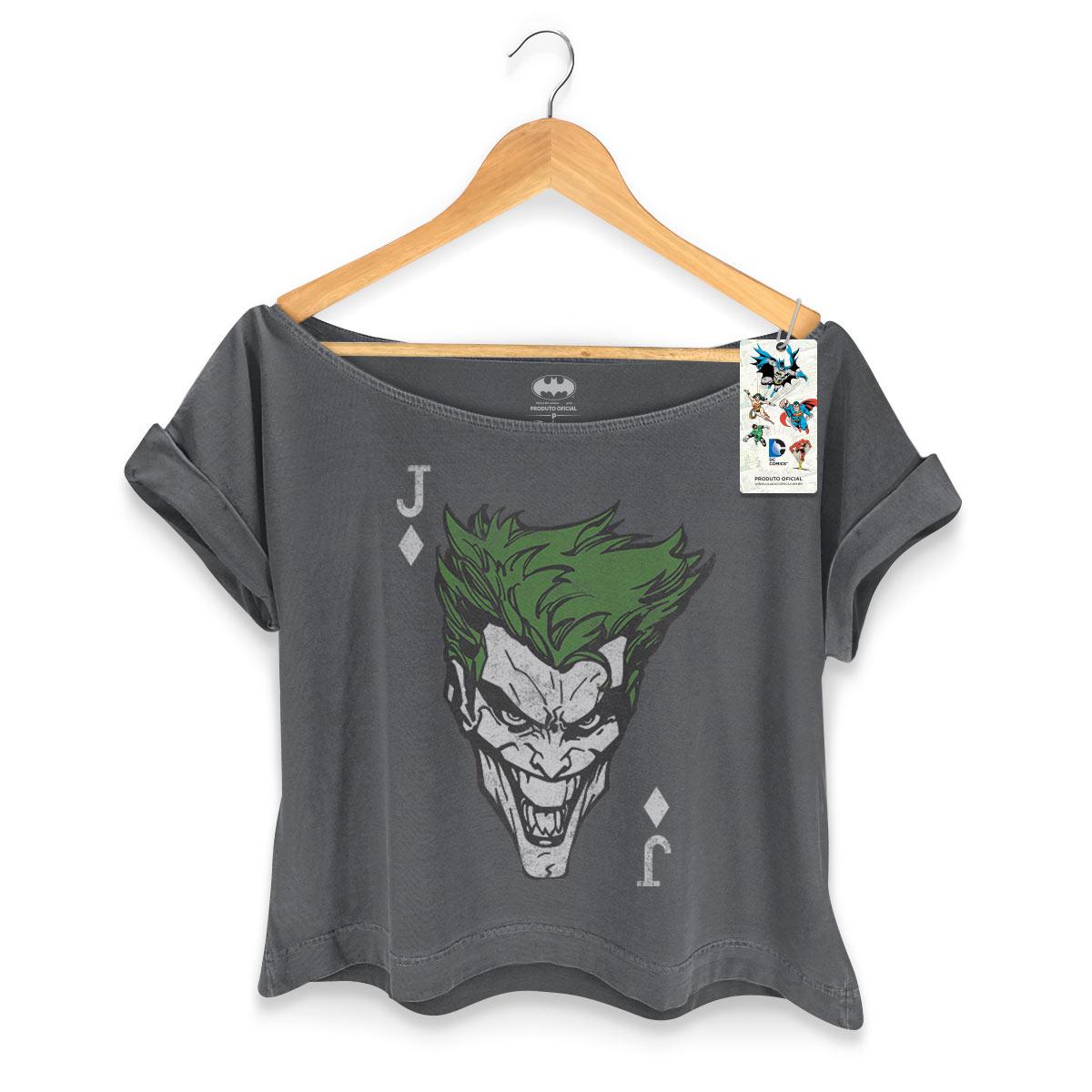 T-shirt Premium Feminina The Joker Card