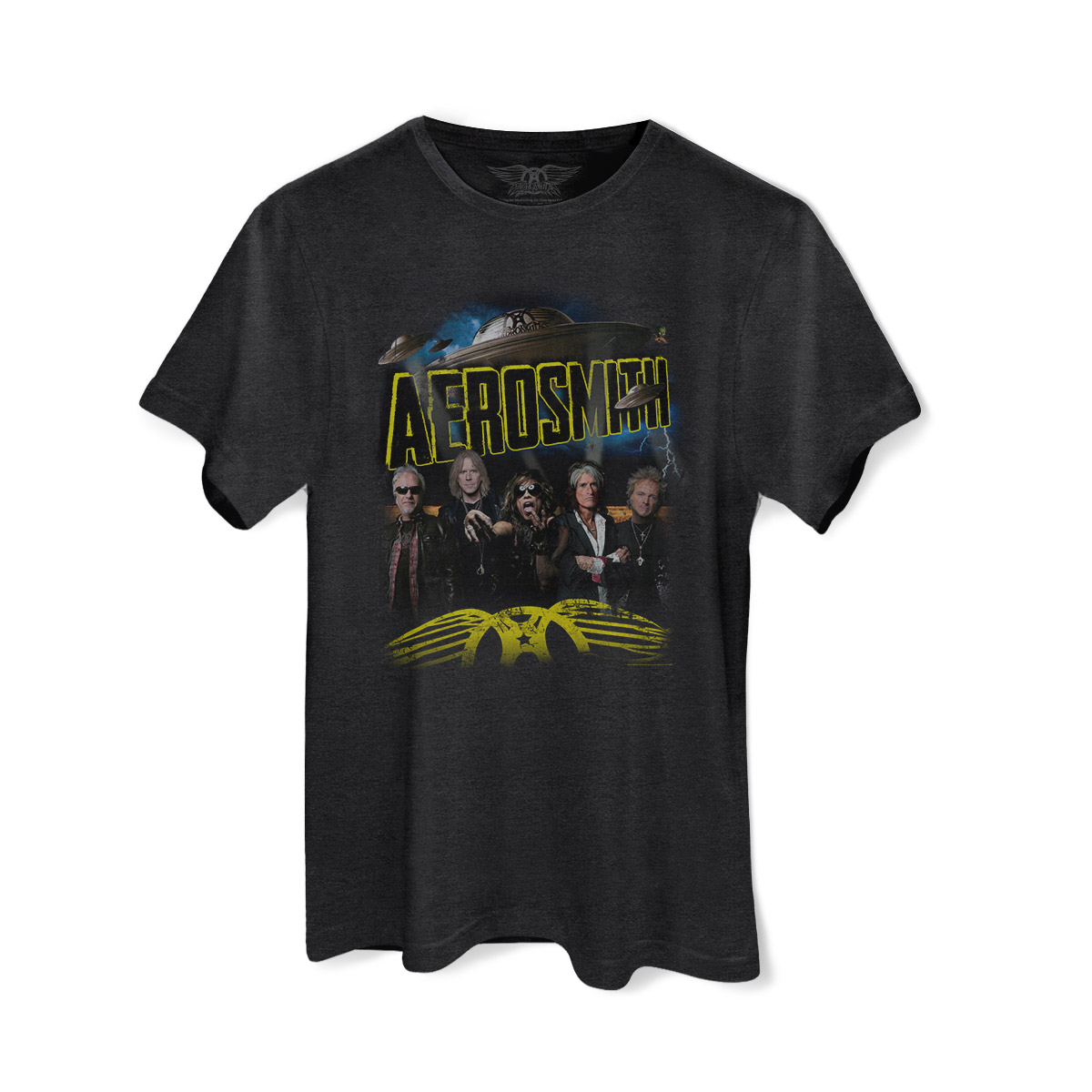 Camiseta Masculina Aerosmith Global Warming Tour