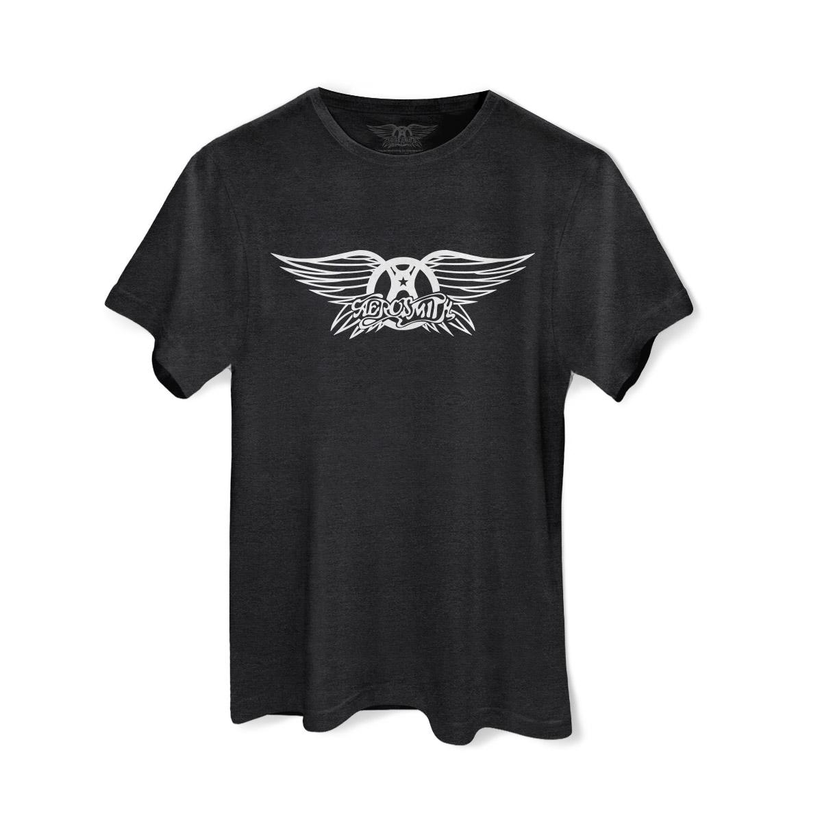 Camiseta Masculina Aerosmith Logo