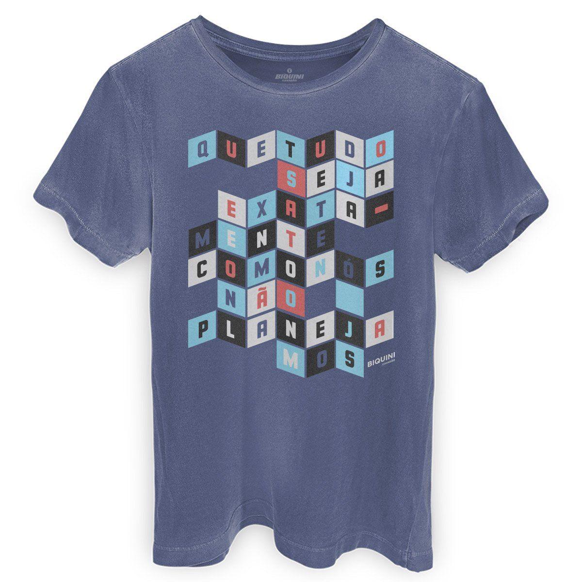 T-shirt Premium Masculina Biquini Cavadão Como Nós Não Planejamos