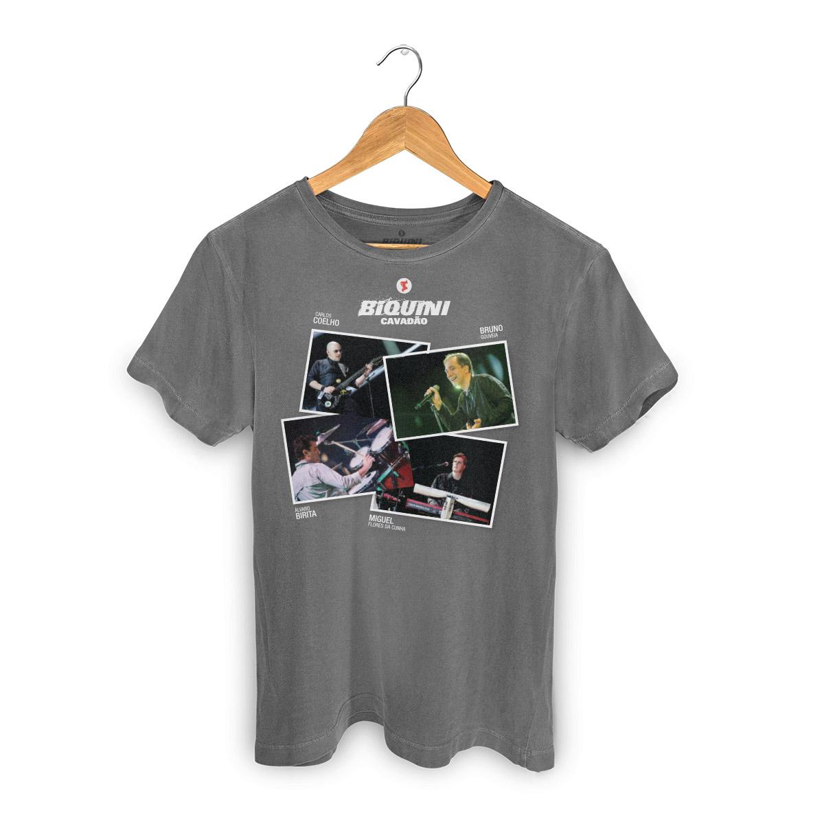 T-shirt Premium Masculina Biquini Cavadão Fotos