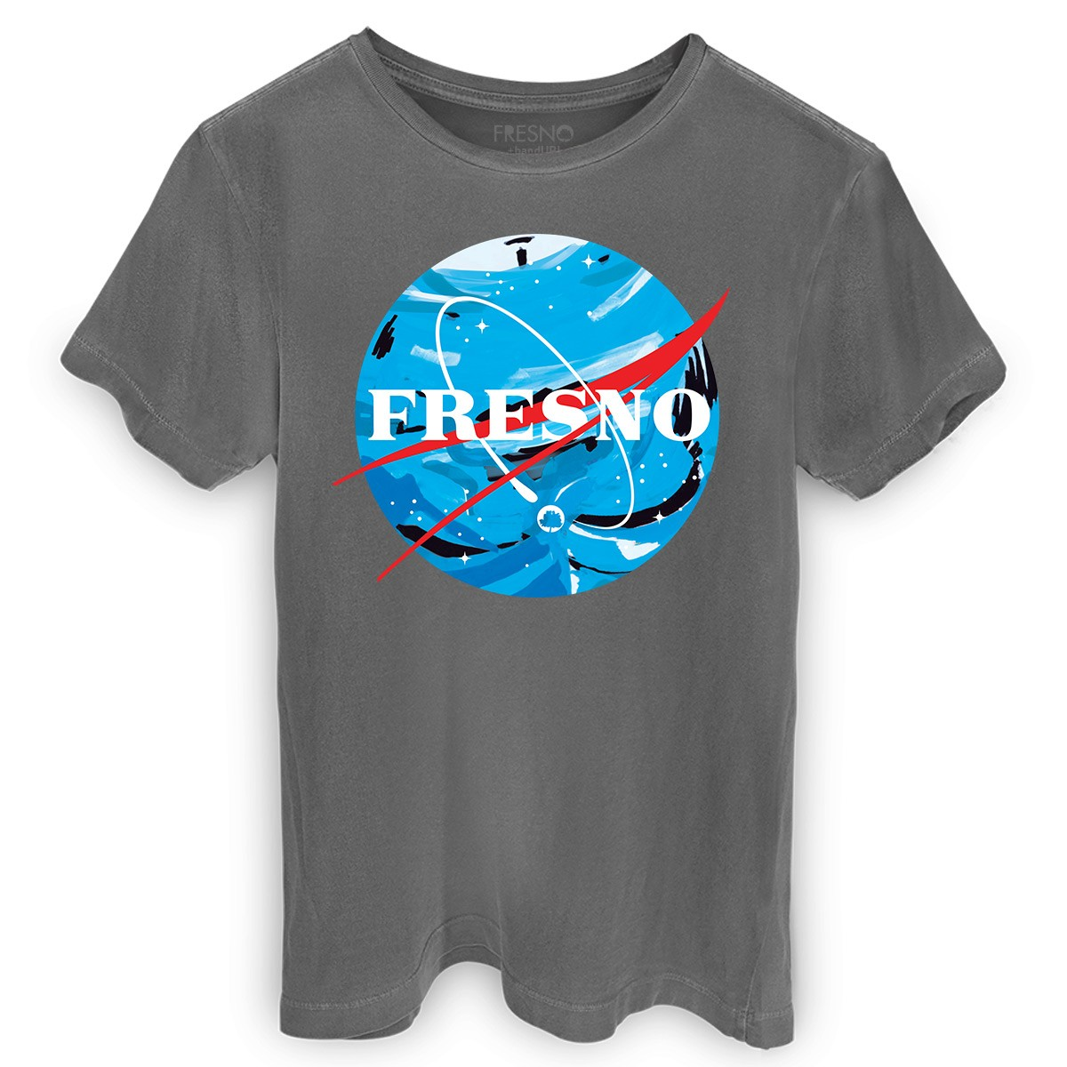 T-Shirt Premium Masculina Fresno Programa Espacial