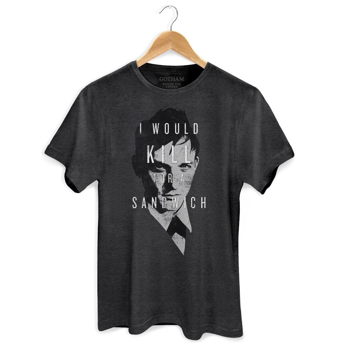 T-shirt Premium Masculina Gotham I Would Kill