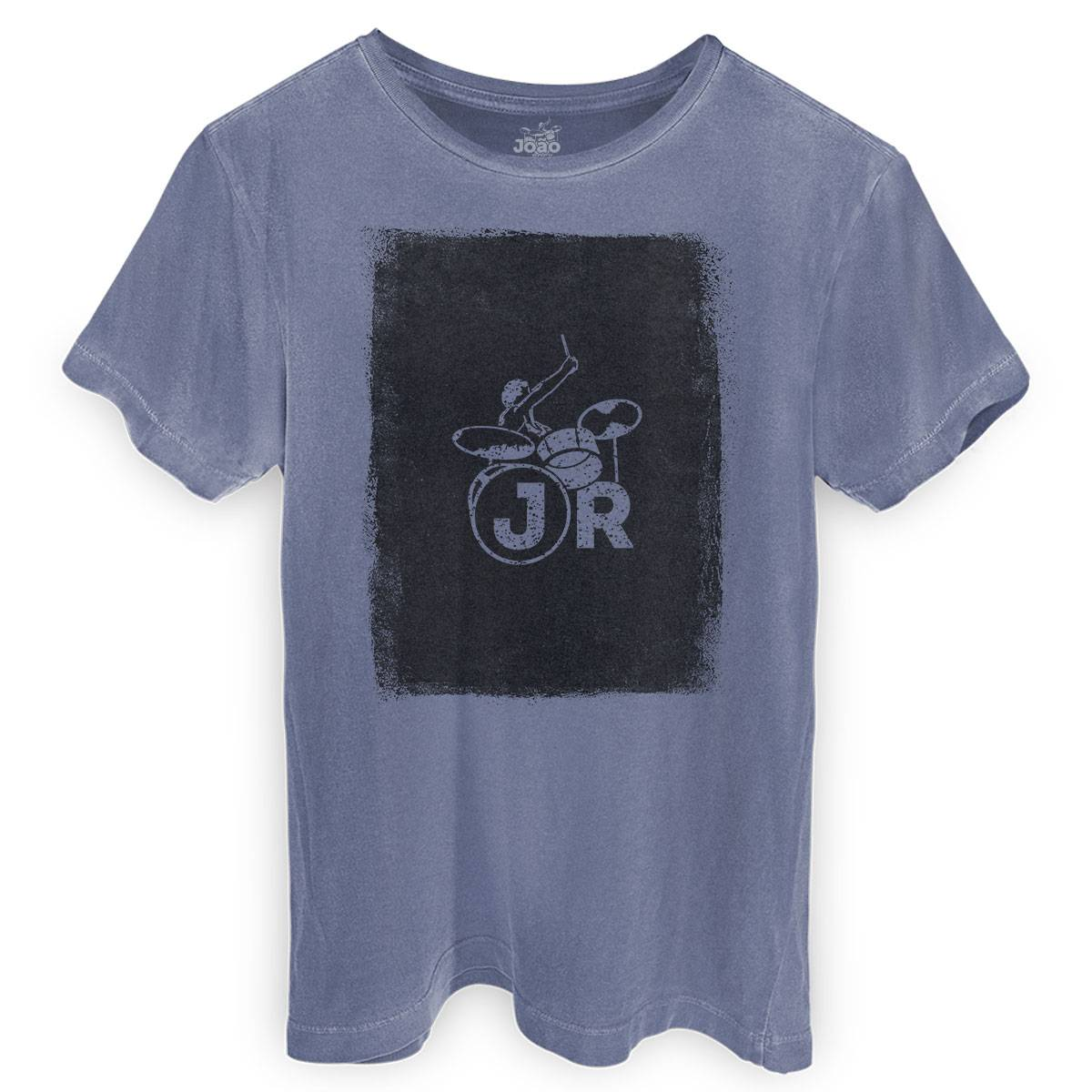 T-shirt Premium Masculina João Rock Batera Square