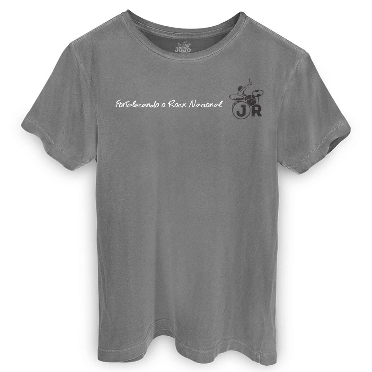 T-shirt Premium Masculina João Rock Fortalecendo o Rock Nacional