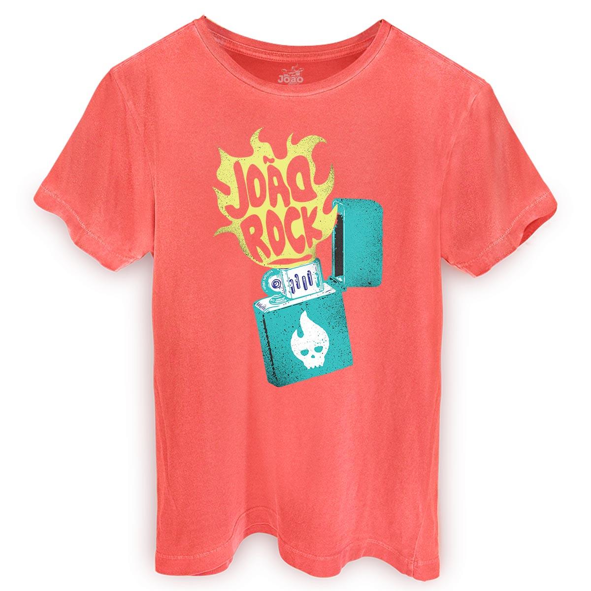T-shirt Premium Masculina João Rock Isqueiro