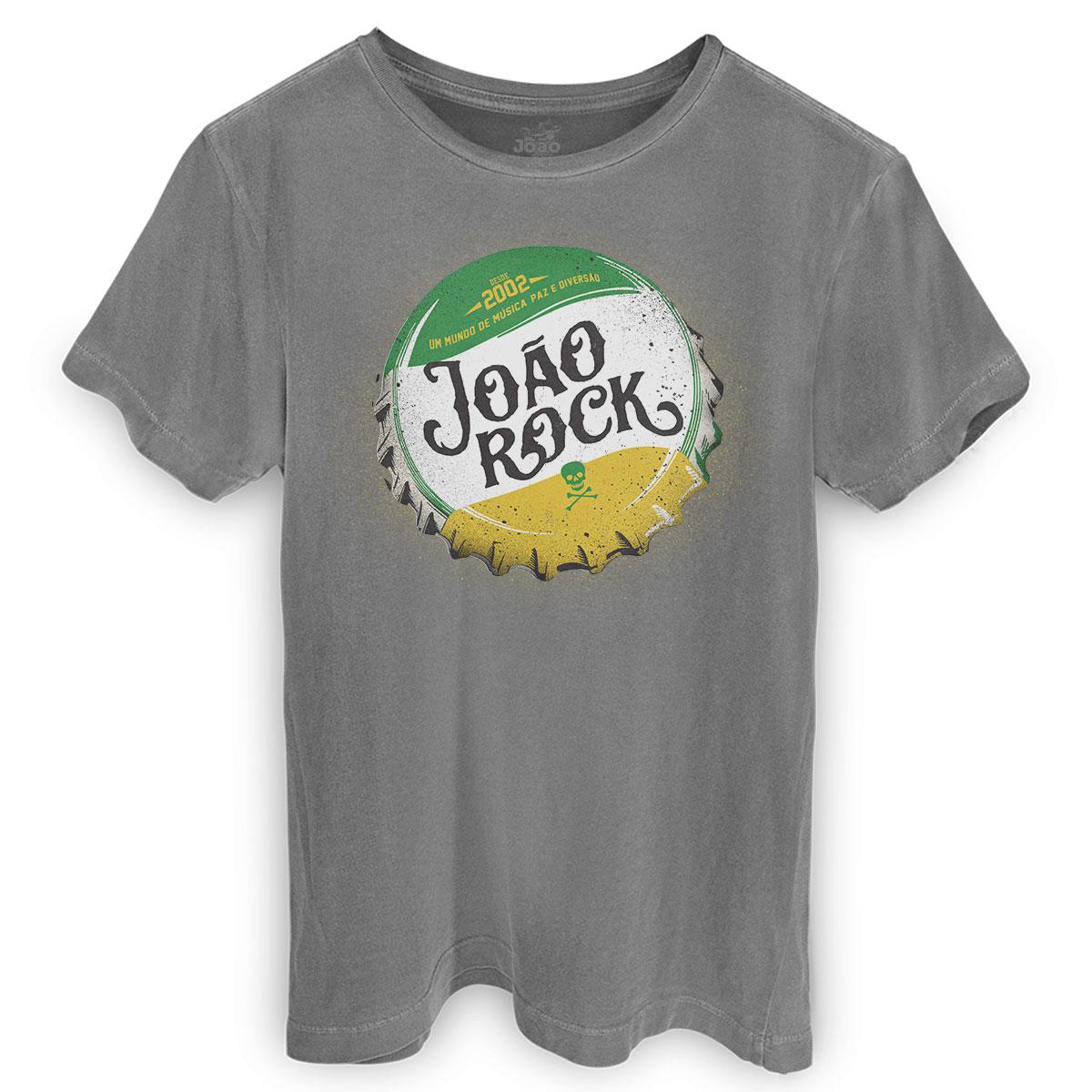 T-shirt Premium Masculina João Rock Tampa
