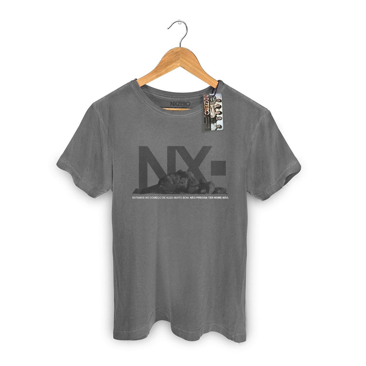 T-shirt Premium Masculina NXZero Algo Muito Bom