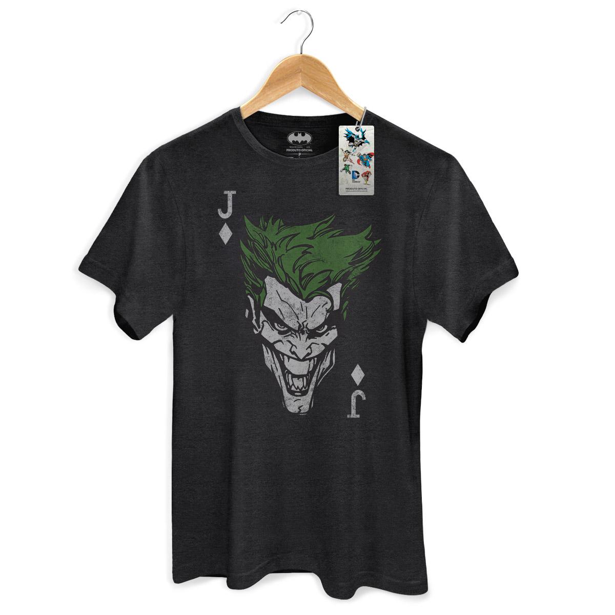 T-shirt Premium Masculina The Joker Card