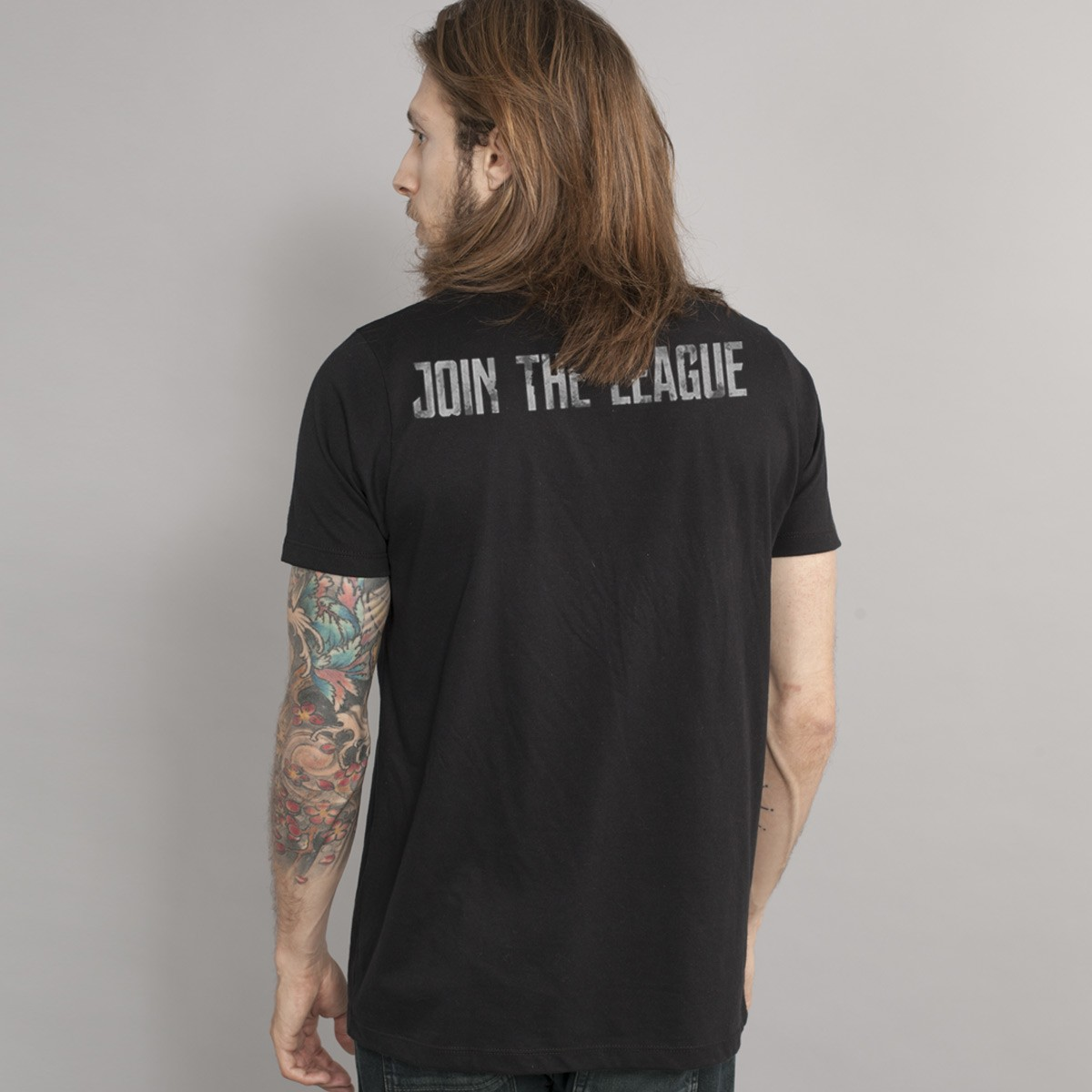T-Shirt Unissex Liga da Justiça Join The League