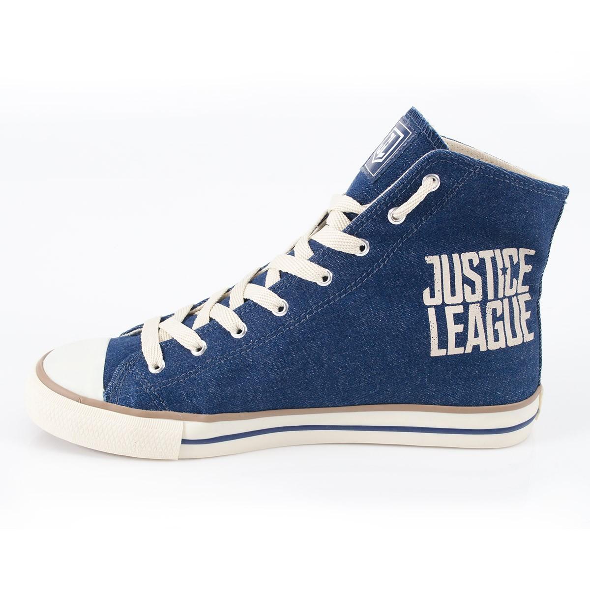 Tênis Cano Alto DC Comics Liga da Justiça Logo