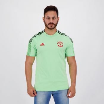 Adidas Manchester United Light Green T-Shirt
