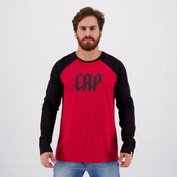 Athletico Paranaense Black and Red Long Sleeves T-Shirt