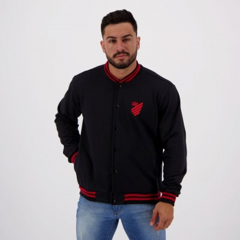 Athletico Paranaense College Furacão Black Jacket