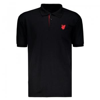 Atlético Paranaense 2018 Black Polo Shirt