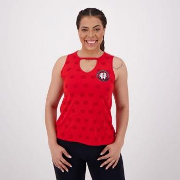 Atlético Paranaense Full Print Women Red Sleeveless Shirt