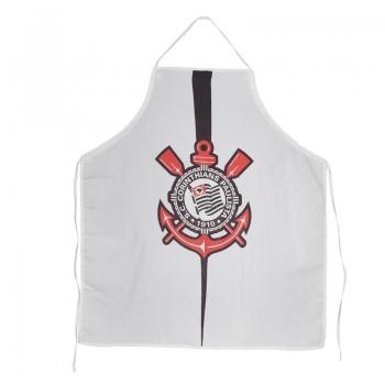 Corinthians Badge White Apron