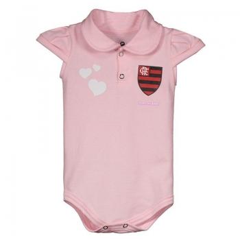Flamengo Pink Baby Romper Suit
