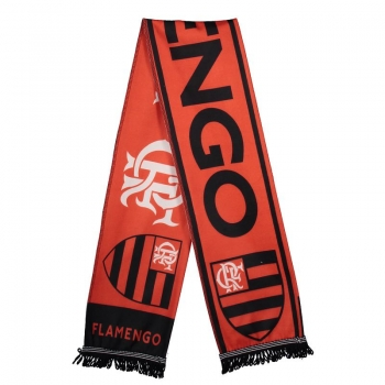 Flamengo Badge Red Scarf