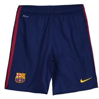 Nike Barcelona Home 2015 Kids Shorts