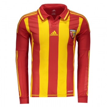 Adidas Lens Home 2013 Long Sleeves Authentic Jersey