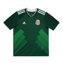 Adidas Mexico Home 2018 Kids Jersey