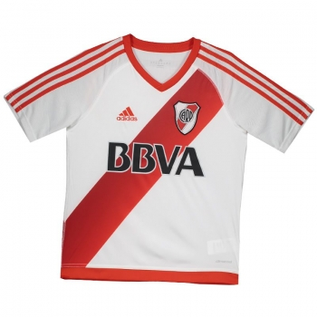 Adidas River Plate Home 2017 Kids Jersey