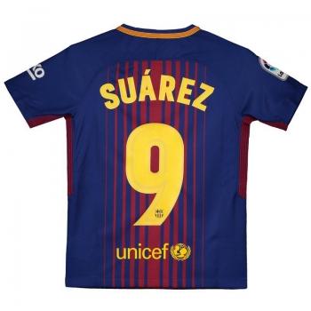 Nike Barcelona Home 2018 9 Suárez Kids Jersey