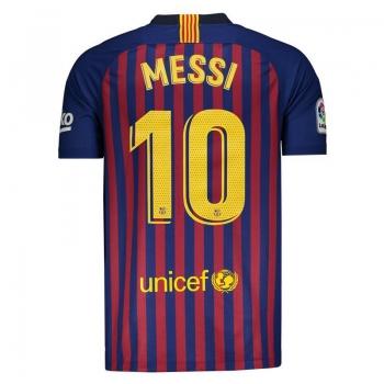 Nike Barcelona Home 2019 10 Messi Jersey