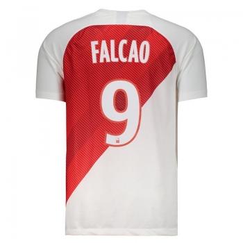 Nike Monaco Home 2019 9 Falcao Jersey