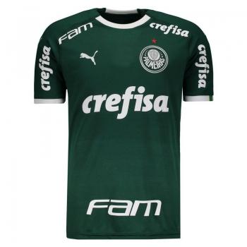 Puma Palmeiras Home 2019 Sponsor Jersey