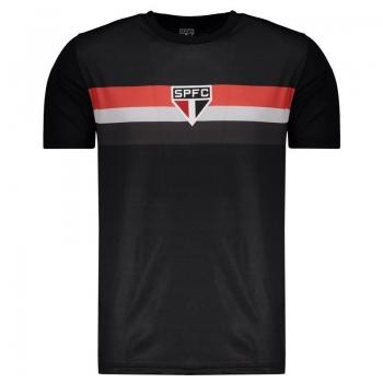 São Paulo Tradicional Black T-Shirt