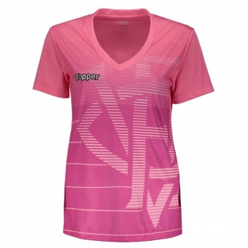 Topper Vitória 2018 Pink October Women Jersey