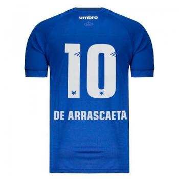 Umbro Cruzeiro Home 2018 10 De Arrascaeta Jersey