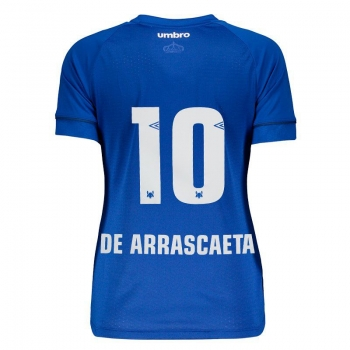 Umbro Cruzeiro Home 2018 10 De Arrascaeta Women Jersey