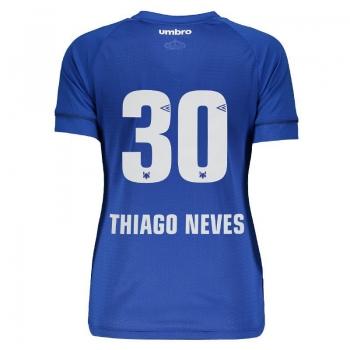 Umbro Cruzeiro Home 2018 30 Thiago Neves Women Jersey