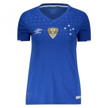 Umbro Cruzeiro Home 2019 Patch Women Jersey