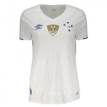 Umbro Cruzeiro Away 2019 Patch Women Jersey