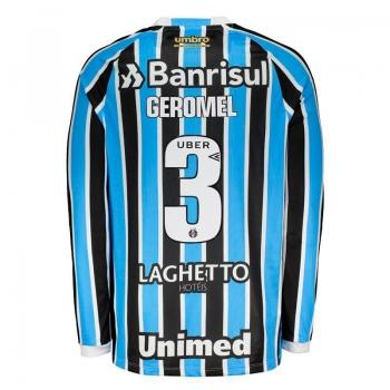 Umbro Grêmio Home 2018 3 Geromel Long Sleeves Jersey