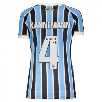 Umbro Grêmio Home 2018 4 Kannemann Women Jersey