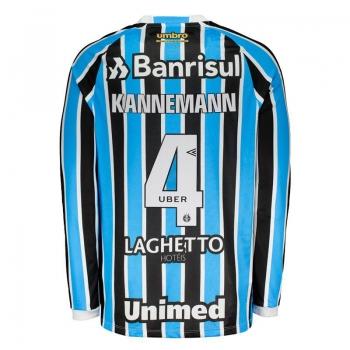 Umbro Grêmio Home 2018 4 Kannemann Long Sleeves Jersey