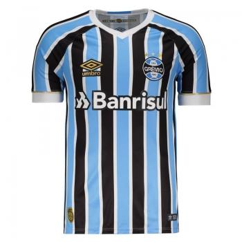 Umbro Grêmio Home 2018 Sponsor Jersey