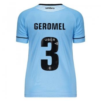 Umbro Grêmio Away 2018 3 Geromel Charrua Women Jersey