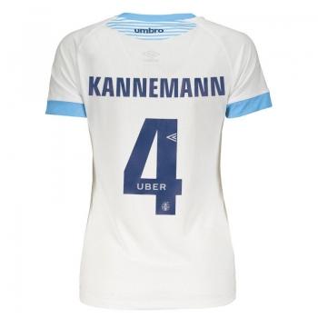 Umbro Grêmio Away 2018 4 Kannemann Women Jersey