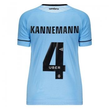 Umbro Grêmio Away 2018 4 Kannemann Charrua Women Jersey